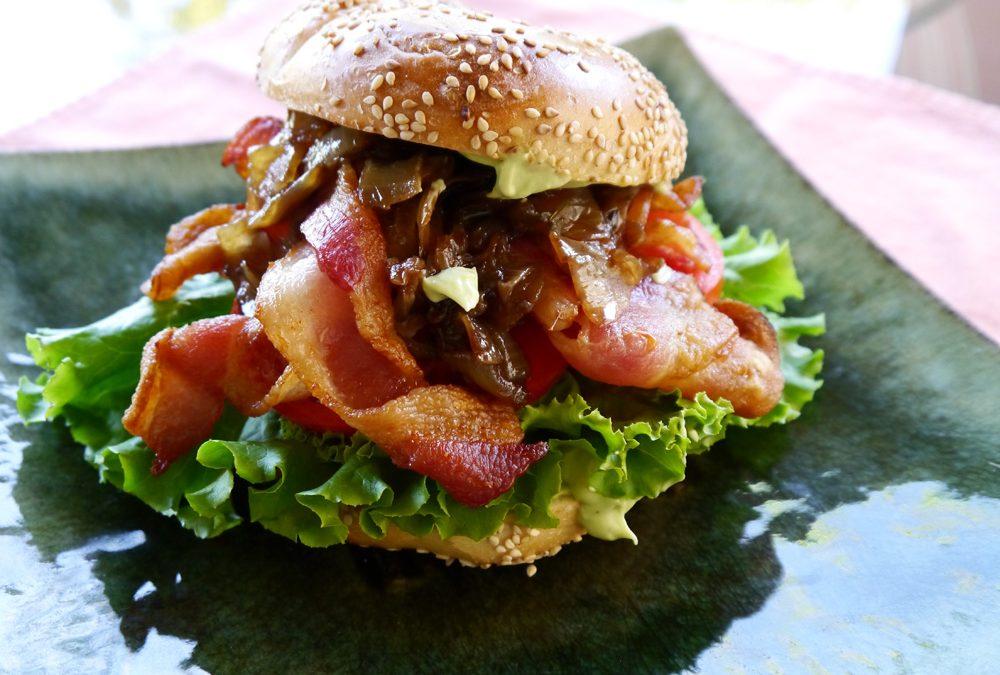 To Die For BLT Bagel Sandwich