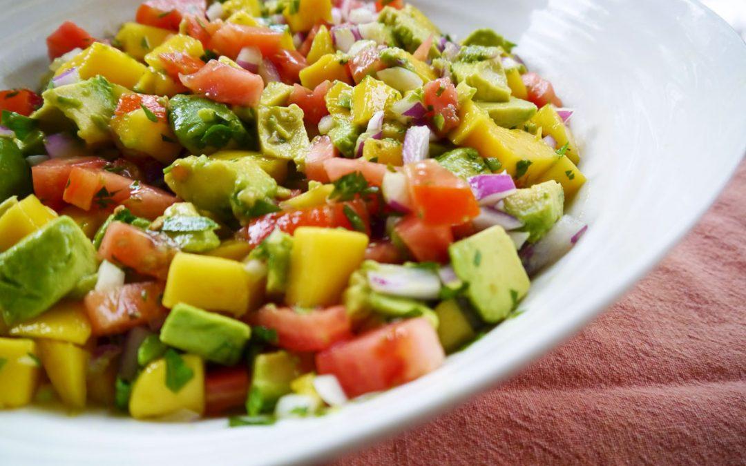 Florida Summer Avocado Mango Salad