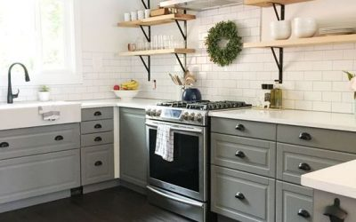 Trending! Open Shelves in the Kitchen