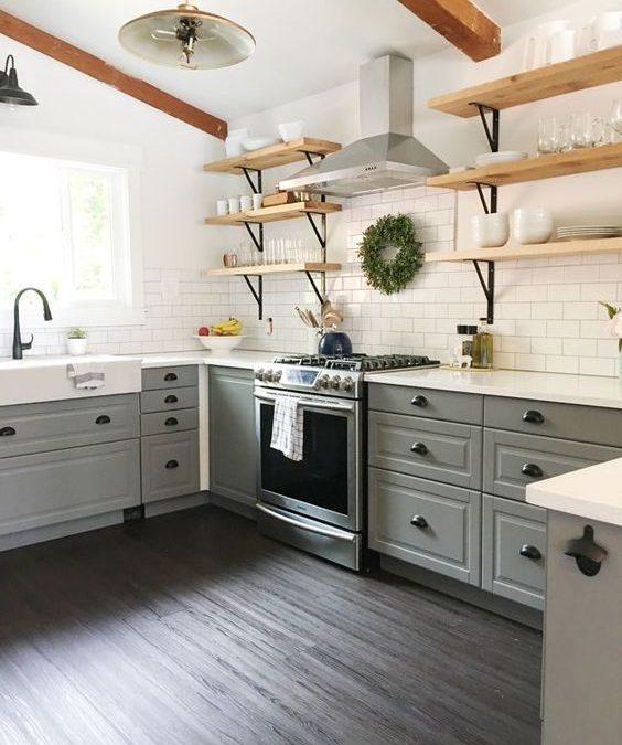 Trending! Open Shelves in the Kitchen