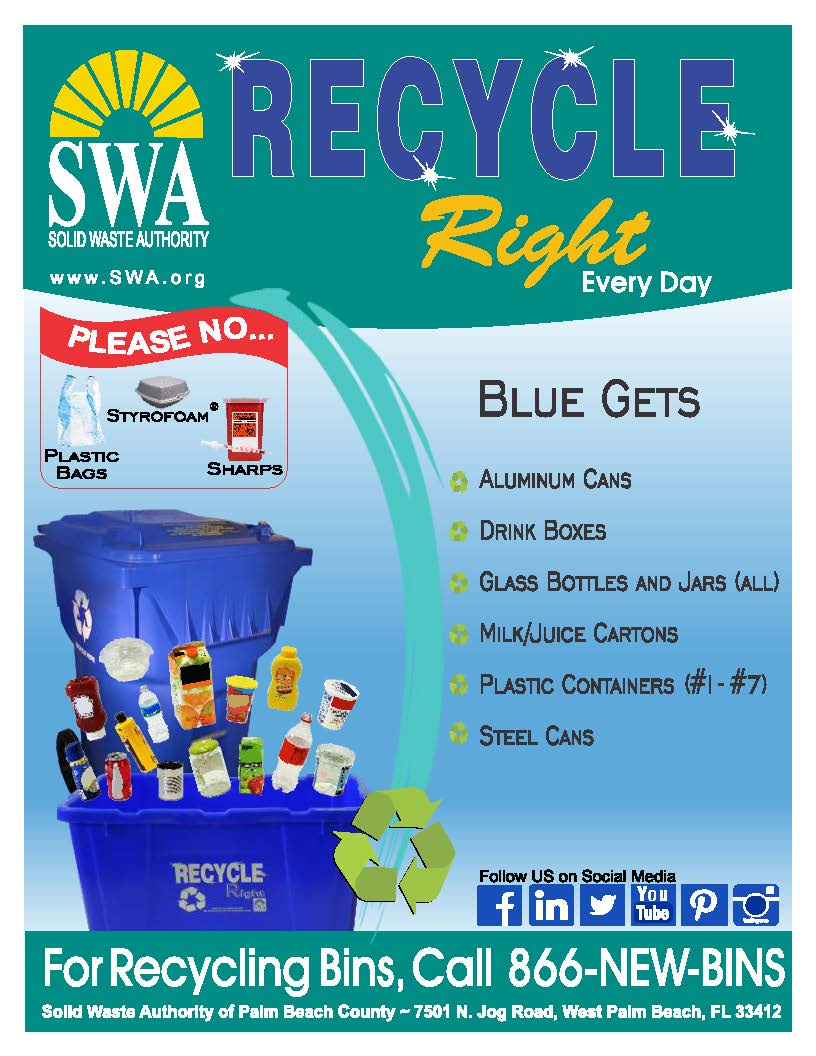 recycling in palm beach