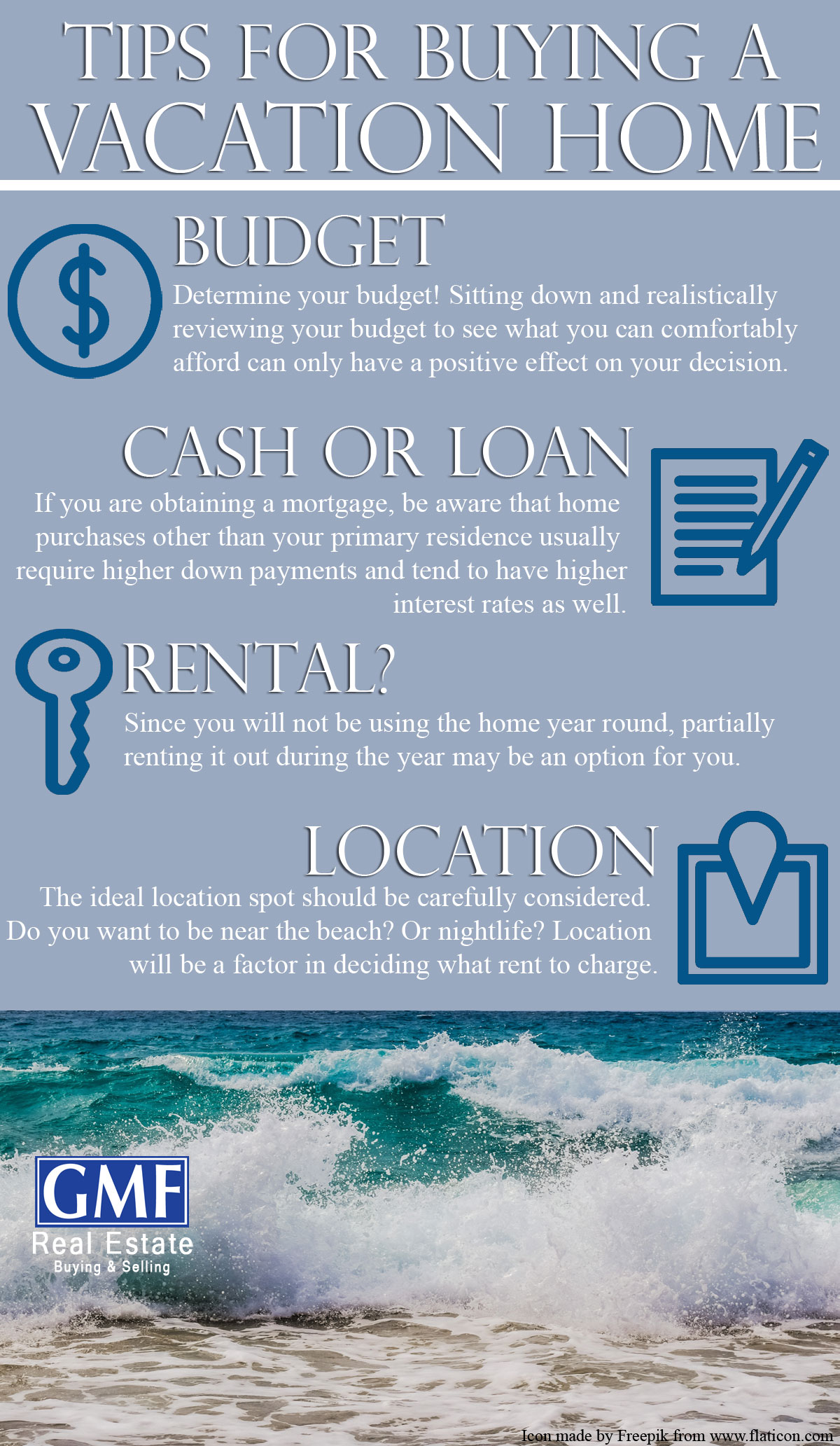 Tips for buying a Vacation home in Florida